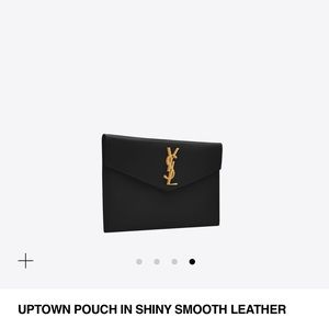 5d4136f8a7 YSL Uptown Pouch NWT